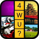 Guess The 1 Word - 4 Pics Puzzle Free Game mobile app icon